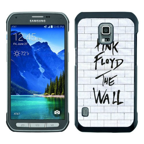Samsung Galaxy S5 Active Pink Floyd The Wall Album Art Black Screen Phone Case Unique and Custom Design