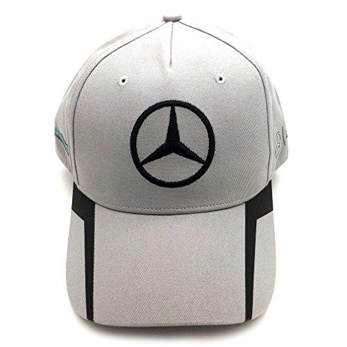Mercedes AMG F1 Replica Driver Puma Rosberg Cappellino grigio ufficiale 2016