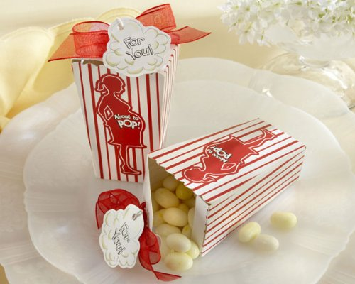 Popcorn Favors Baby Shower
