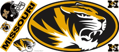 Roommates Rmk1996Gm University Of Missouri Giant Peel And Stick Wall Decal front-193400