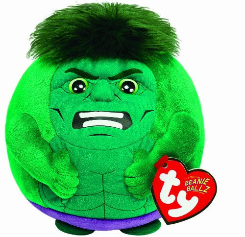 Ty Beanie Ballz Hulk Regular Plush - 1