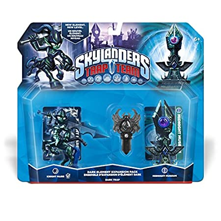 Skylanders Trap Team: Midnight Museum Dark Element Expansion Pack