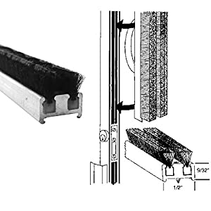 Commercial Entrance Door Astragal Weatherstripping 84 In