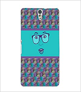 PrintDhaba Specy Face D-4264 Back Case Cover for SONY XPERIA C5 ULTRA (Multi-Coloured)