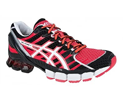 ASICS LADY GEL-KINSEI 4 Running Shoes - 11 - Red