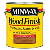 Minwax 710780000 Wood Finish - Penetrates, Stains & Seals, 250 VOC, gallon, Early American (Color: Early American, Tamaño: 250 VOC)