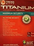 Trend Micro Titanium Maximum Security 2012 - 1 User