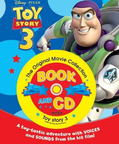 Disney Pixar Toy Story, 3: The Original Movie Collection (Book & CD)