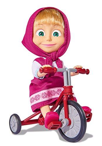 109302059 Masha 12 cm. con triciclo originale