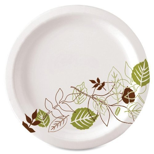 dixie-sxp10pathpk-pathways-table-ware-plates-extra-heavy-weight-10-in-125pk-pathways-white-by-georgi