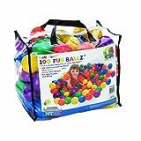 100 Fun Ballz Ball Pit Balls - Kids Love Em!