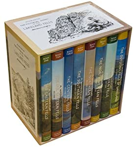 Alfred Wainwright's Pictorial Guides To The Lakeland Fells - 8 Volumes - Complete Revised Editions Boxed Set