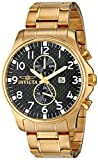 Invicta Men's 0382 II Collection 18k Gold-Plated Stainless Steel Watch