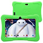 Dragon Touch 7 Quad Core Android Kids Tablet, with Wifi and Camera and Games, HD Kids Edition w/ Zoodles Pre-Installed (2015 New Model, Y88X with Green Silicone Case)