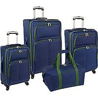 Nautica Bay Breeze 4-Pc Spinner Luggage Set