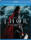 Cover art for  Thor (Three-Disc Combo: Blu-ray 3D / Blu-ray / DVD / Digital Copy)