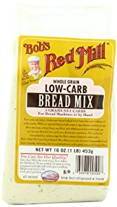 Bob's Red Mill Low-Carb Bread Mix, 16-Ounce Packages (Pack of 4)