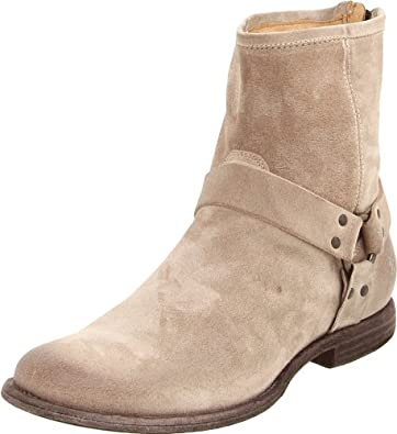 FRYE Men's Phillip Harness Boot Sand 7 M US