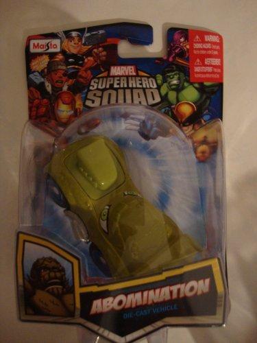 Maisto Marvel Super Hero Squad Abomination Die Cast Vehicle