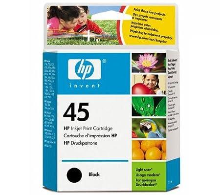 Cartouches d'impression HP noire 51645GE