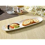 さんま皿(15.5号)/長皿/焼き魚皿/寿司皿/すし皿/おうちカフェ/業務用食器/白食器