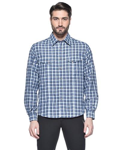 Cmp F.lli Campagnolo Camicia Quadri [Bianco/Blu]