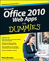 Office 2010 Web Apps For Dummies Front Cover