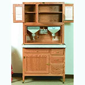 Build your own hoosier kitchen cabinet american furniture for Amazon kitchen cabinets