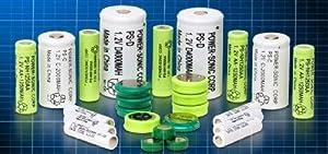 "NiCd - Nickel Cadmium Battery 1.2V 600mAH ""AA"" W/SOLDER TABS (1 piece)"