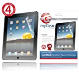 MyGear Products Sun Block Screen Protector Films for Apple iPad 2 2nd Generation - (4-Pack) Anti-Glare. ~ myGear Products