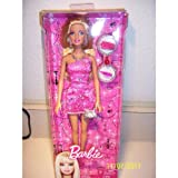 Barbie Doll Night On The Town Evening Wear Doll - Pink - With Purse, Camera And Other Evening Out Accessories....