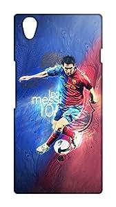 Barcelona Football Club - BARCA Design Mobile Cover for OnePlus X - Hard Case Back Cover - FCB Printed Designer Cover - OPXFCBB12