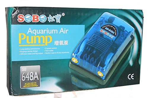 Sobo Aquarium Air Pump SB-648A  available at amazon for Rs.234
