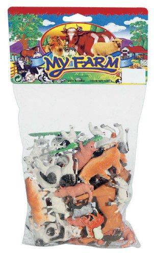 45-Bauernhoftiere-Tiere-und-Figuren-fr-Spiel-Bauernhof
