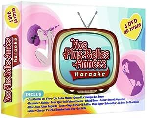 Nos Plus Belles Années Karaoké : Coffret 2010 Vol. 1, 2, 3 & 4