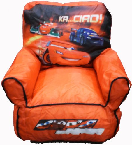 Idea Nuova-Disney Pixar Cars Kids Bean Bag Chair For Boys