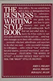 img - for Business Writing Style Book book / textbook / text book