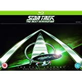 Star Trek: The Next Generation (Complete Seasons 1-7) - 41-Disc Box Set ( Star Trek: TNG (176 Episodes) ) [ Blu-Ray, Reg.A/B/C Import - United Kingdom ]