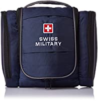 Swiss Military Polyester Blue Toiletry Kit (TB-3)