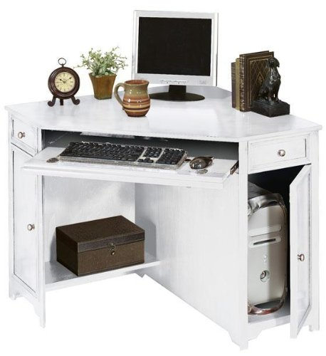 Buy Low Price Comfortable Oxford 50″w Corner Computer Desk (B001BUAFRQ)