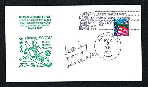 """Duane Gene """"Digger"""" Carey signed autograph auto Envelope / Cover NASA Astronaut"""