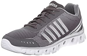 K-Swiss Men's X Lite Athletic CMF Athletic, Charcoal/High Rise/White, 8 M US