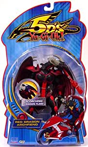 Yu-Gi-Oh 5D's Playmates Figures - RED DRAGON ARCHFIEND (Scorching Crimson Flare)