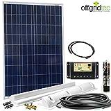 Wohnmobil Solaranlage Basic Starter 12V - Solarset für Wohnwagen -