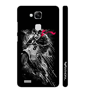 Huawei Ascend Mate 7 Flying Panda designer mobile hard shell case by Enthopia