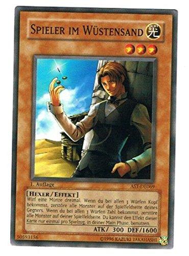 AST-DE069 Spieler im Wüstensand im Set mit original Gwindi Kartenschutzhülle