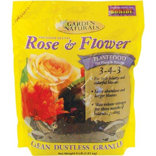 Bonide 7101 4-Pound Rose and Flower Food 3-4-3