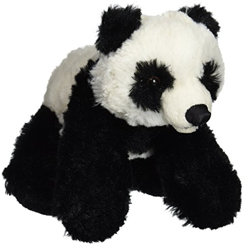 "Purr-Fection Pepe Junior Snuggle Ups Panda 8"" Plush"