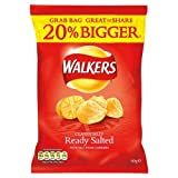 Walkers Ready Salted Crisps 32x60g