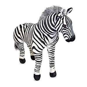 Large Stuffed Plush - Large Plush Zebra